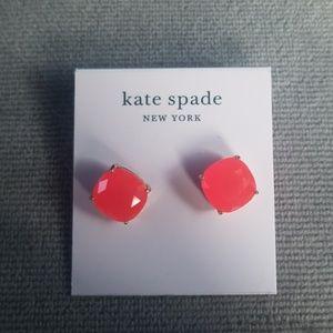 NWT**Kate Spade Square Stud Earrings